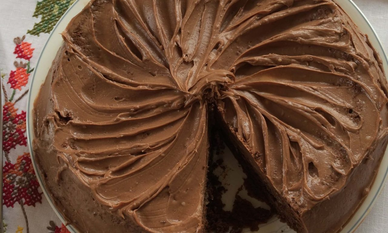 Moist and Sticky Chocolate Cake – A Guilty Pleasure