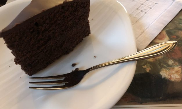 Chocolate cake in the morning is good for you